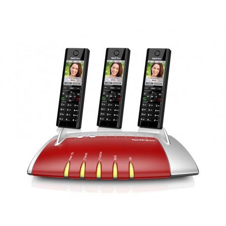 Central Telefónica IP com 3 Telefones C5