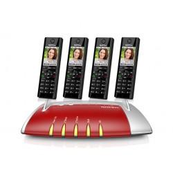 Central Telefónica IP com 4 Telefones C5