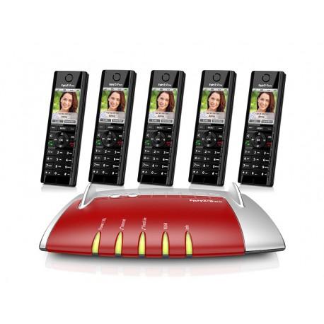 Central Telefónica IP com 5 Telefones C5
