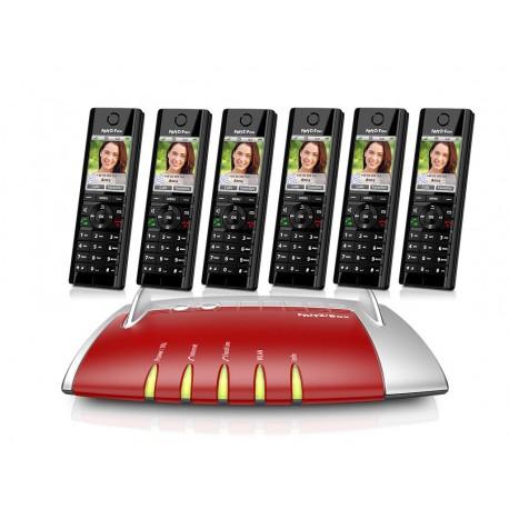 Central Telefónica IP com 6 Telefones C5