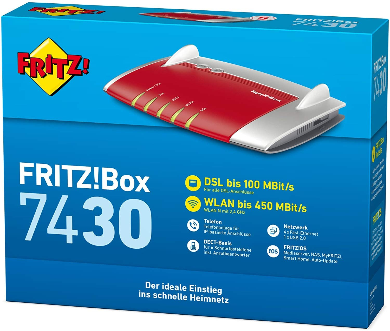 Desconto no FRITZ! Box 7430